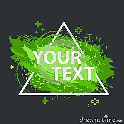 Free Grunge Splash Banner. Vector Splatter Labels With Space For Text. Grunge Label. Stock Image - 102393791