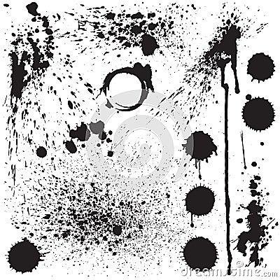 Grunge stains