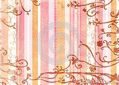 Grunge stripes page