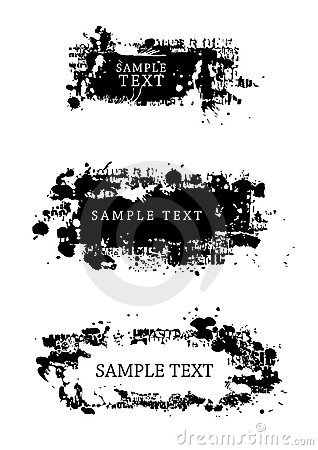 Free Grunge Style Design Elements Royalty Free Stock Photo - 3636815