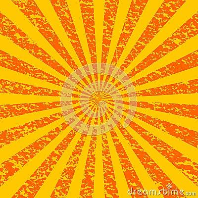 Grunge Sunburst [1]