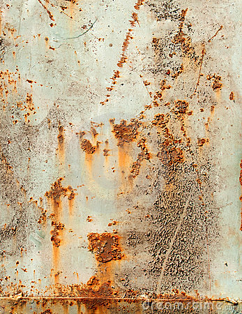 Grunge texture of old rusty metal