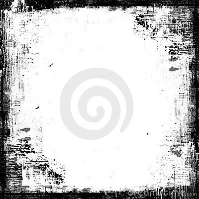 Grunge texture painted frame with space