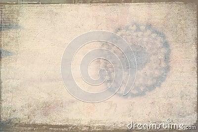 Grunge textured background flower theme