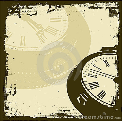 Grunge Time Stock Image - Image: 428621