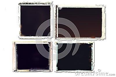 Grunge transfer frames