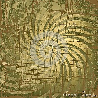 Grunge twirl