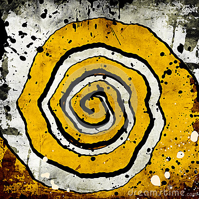 Grunge twisted background