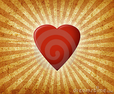 Grunge Valentine Royalty Free Stock Images - Image: 12838329