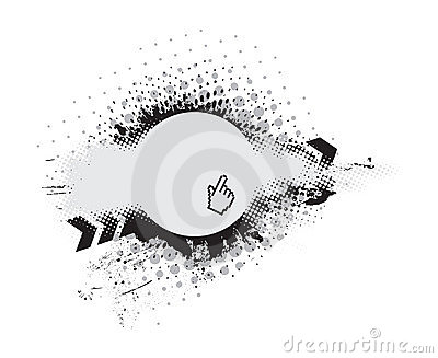 Grunge vector composition