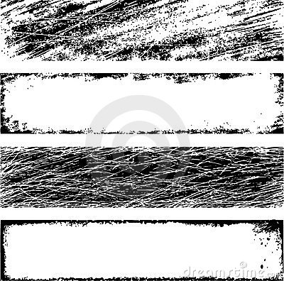 Free Grunge Vector Frames Royalty Free Stock Image - 14584166