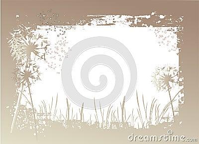 Grunge vegetation