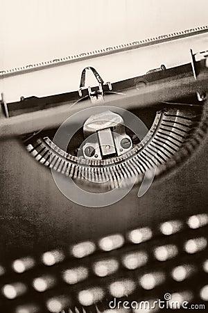 Grunge Vintage Typewriter