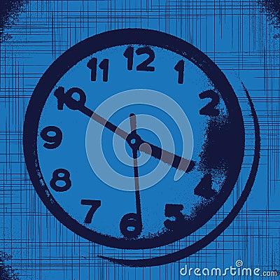 Grunge watch background