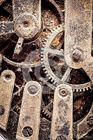 Free Grunge Watch Mechanism Royalty Free Stock Photography - 25425477