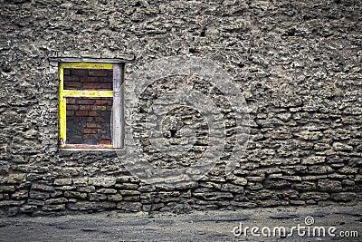 Grunge window F1