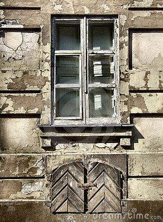 Grunge window - urban decay