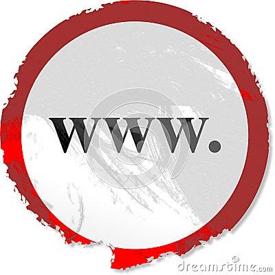 Grunge www sign
