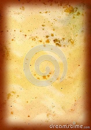 Grunge Yellow Texture