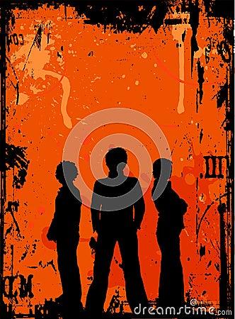 Grunge youth
