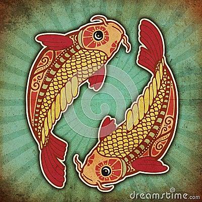 Grunge Zodiac - Pisces