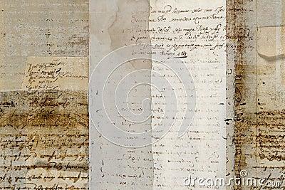 Grungy antique parchment background