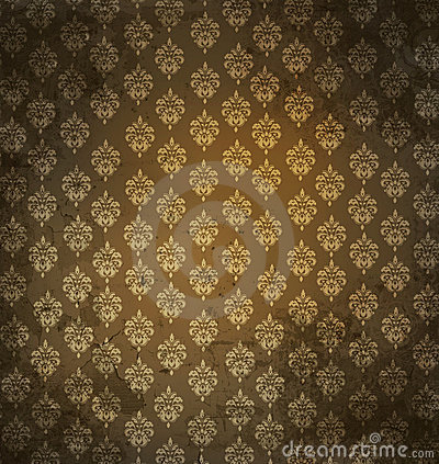 Free Grungy Antique Wallpaper Stock Images - 6803844
