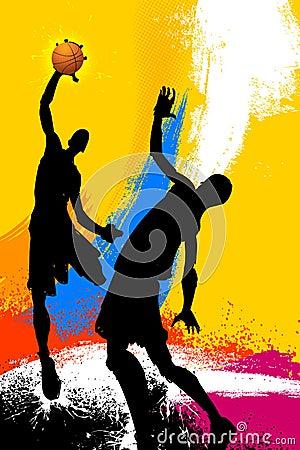 Grungy Basketball Game