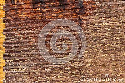 Grungy Brick Background Texture