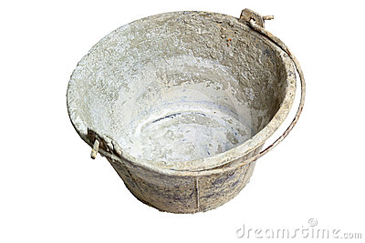 Grungy bucket
