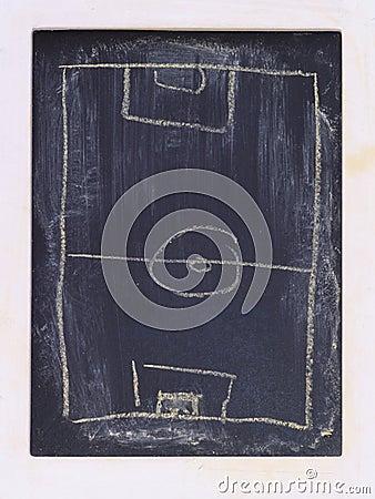 Grungy chalkboard