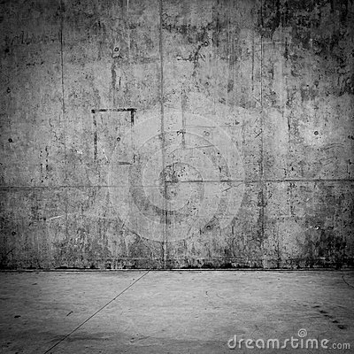 Free Grungy Concrete Wall And Floor As Background Stock Photography - 39261242