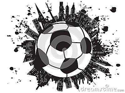 Grungy football city