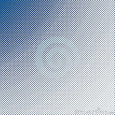 Grungy halftone blauw
