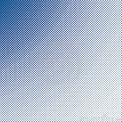 Grungy halftone blue
