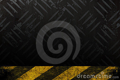Grungy Hazard Background