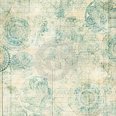 Free Grungy Lace Doiley Background Design Stock Images - 20987224