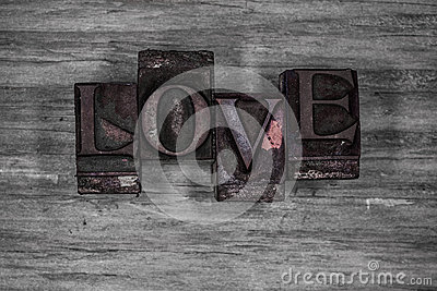 Grungy Love background texture