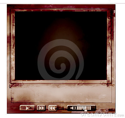 Grungy mediaplayer