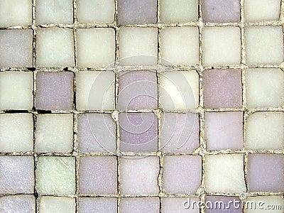 Grungy mosaic pattern