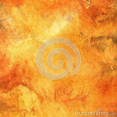 Grungy orange background