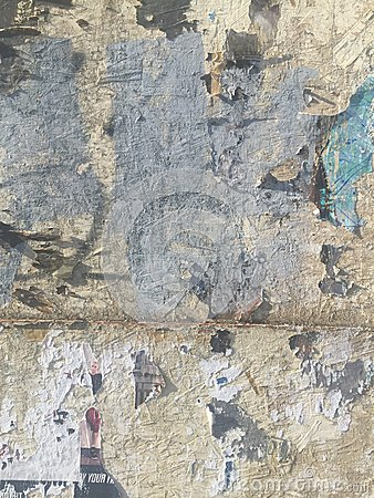 Free Grungy Painted Peeling Wall Industrial Brick Background Stock Image - 59089541