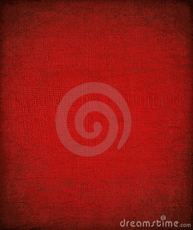 Grungy red painted textured background