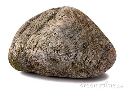 Grungy rock