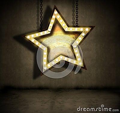 Grungy star