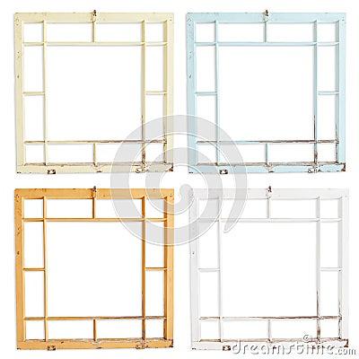 Grungy Wood Frames