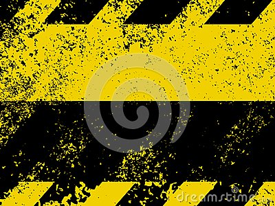 A Grungy And Worn Hazard Stripes Texture. EPS 8 Stock Images - Image: 18524574
