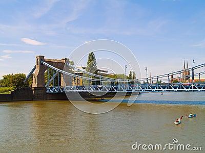 Grunwaldzki Bridge in Wroclaw