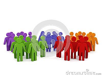 Grup ludzie