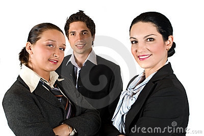 Grupo de hombres de negocios